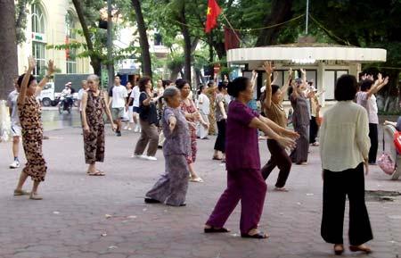 вьетнамские пенсионеры