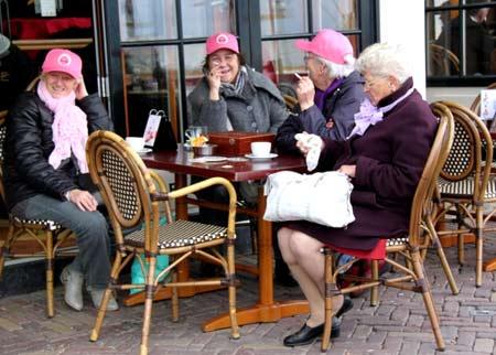 пенсионеры в Голландии