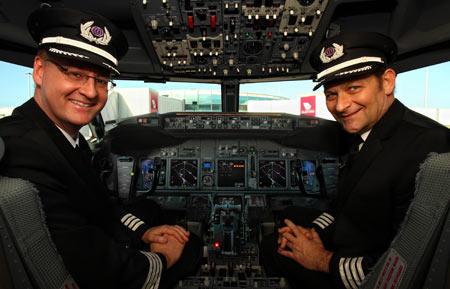 пилоты в Сингапуре