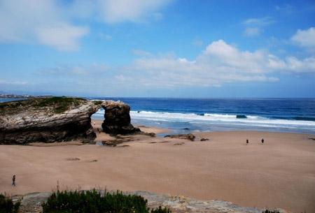 зимний пляж в Испании