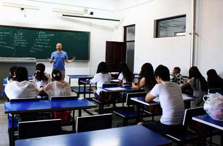 преподаватель в Китае
