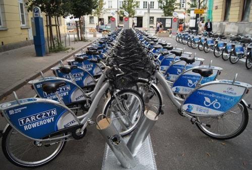 велопрокат в Польше