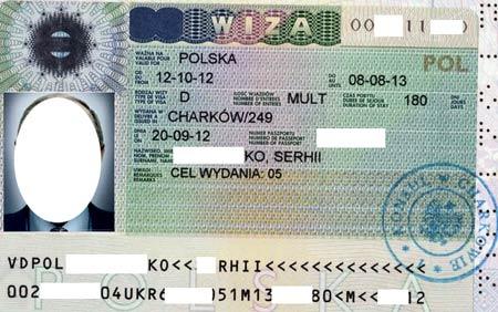 рабочая виза в Польшу