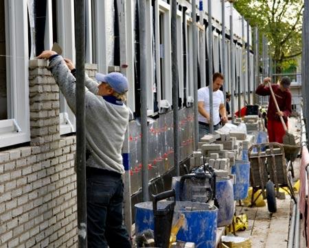 Стройка в Голландии