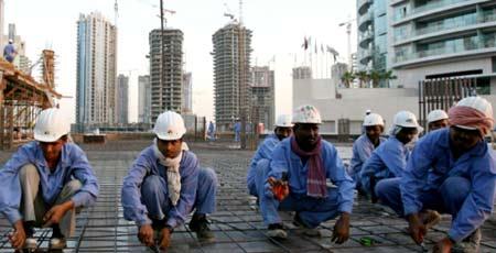 строители в Европе