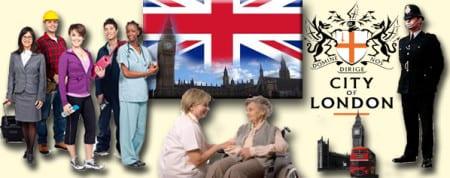 Работа в Великобритании