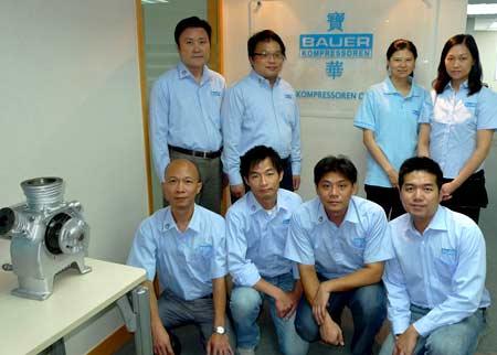 рабочие в Китае