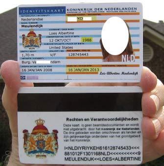 голландский студенческий билет
