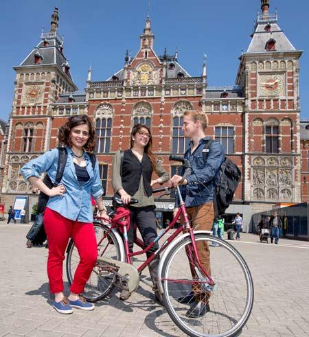 голландские студенты