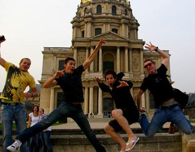 танцоры в Англии