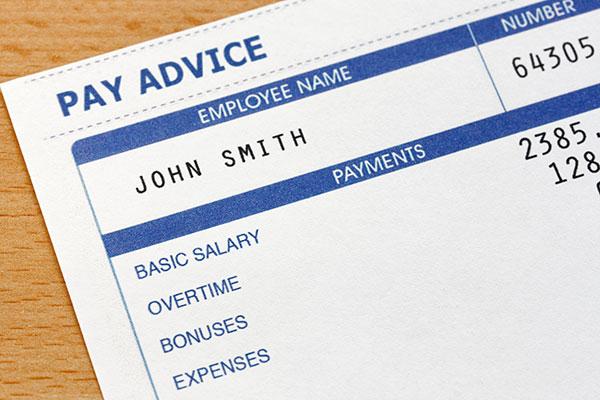 Налоговая квитанция