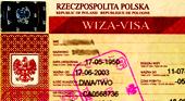Оформление и получение национальной визы в Польшу