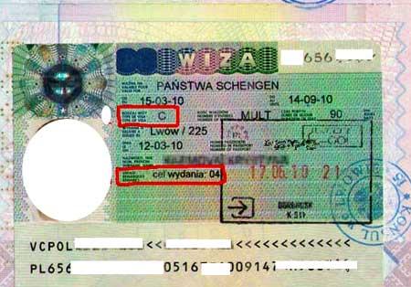 польская транзитная виза