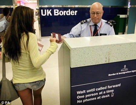 Пограничная служба Англии