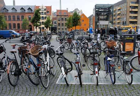 велосипеды в Голландии