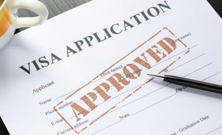 Одобрение визы в Англию