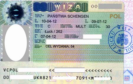 польская гостевая виза