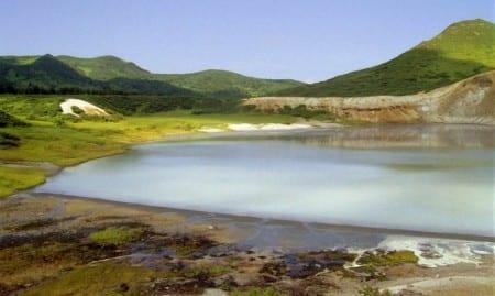 Озеро Понто наКунашире
