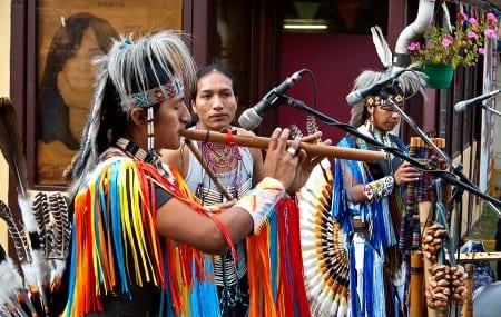 Этническая музыка индейцев Эквадора