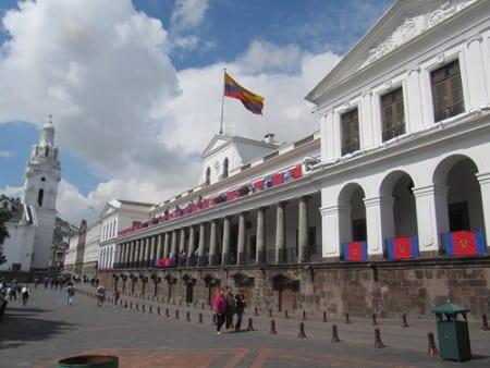 Президентский Дворец в Эквадоре