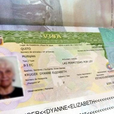 Миграционная виза в Эквадор