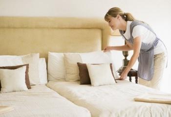 Работа помощницы по хозяйству