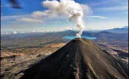 Курильский вулкан