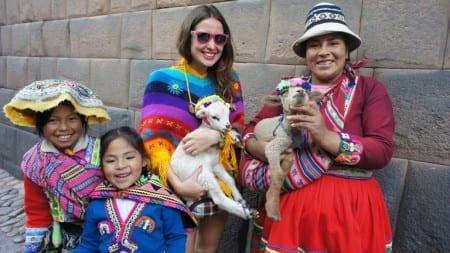 Люди в Перу