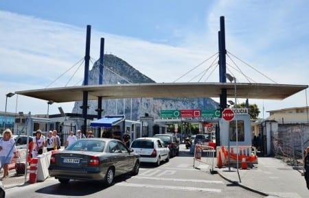 Граница Гибралтара