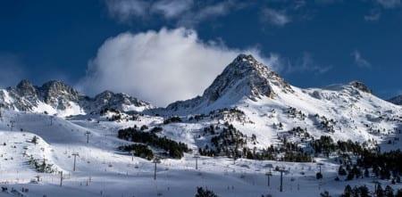 Андорра зимой
