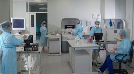 Диагностический кабинет в израильской клинике