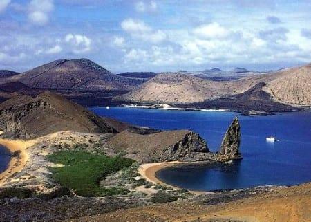 Вид на Галапагосы