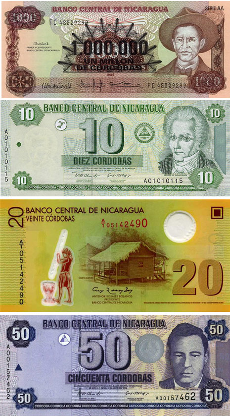 никарагуанские кордобы