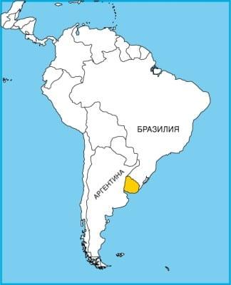 Уругвай на крате