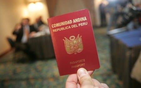 Паспорт гражданина Перу
