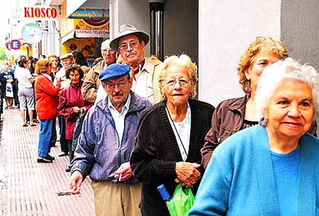 пенсионеры в Боливии