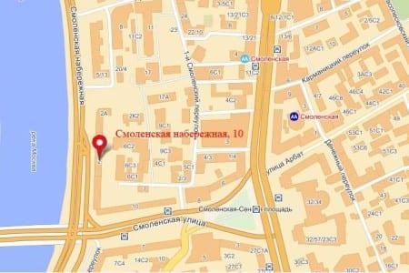 Посольство Великобритании в Москве на карет