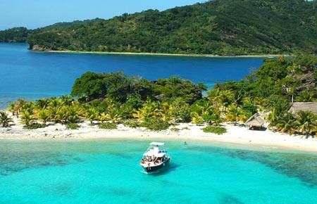 пляж в Гондурасе
