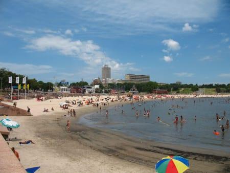 Пляж Монтевидео в Уругвае