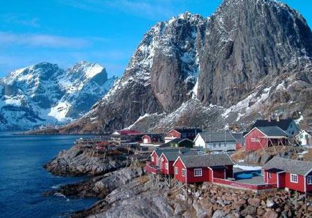 поселок в Норвегии