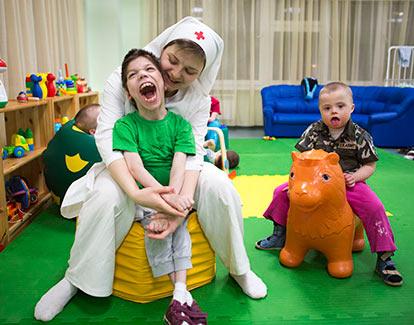 волонтерская работа с детьми