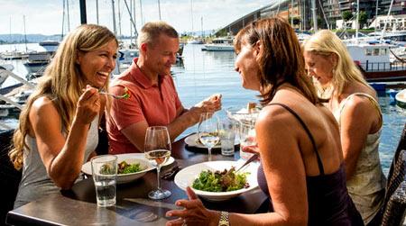 ресторан в Норвегии