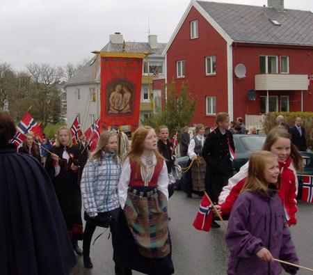 школьники в Норвегии