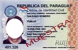 ВНЖ в Парагвае