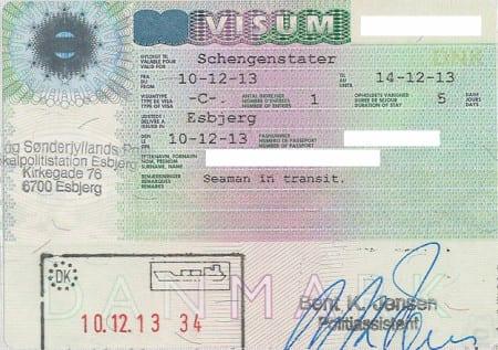 Туристическая виза в Данию