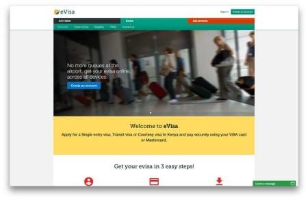 Сервис по оформлению визы в Кению онлайн