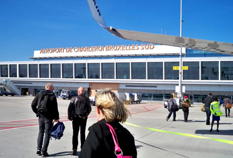 аэропорт в Бельгии