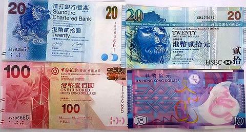 деньги в Гонконге