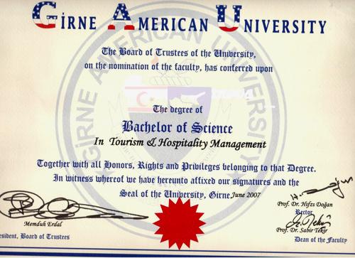 диплом в США