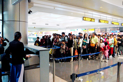 Оформление визы в аэропорту